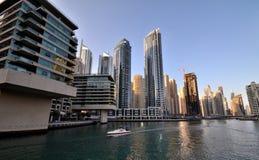 Rascacielos en Dubai Fotos de archivo