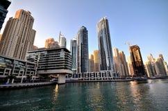 Rascacielos en Dubai Foto de archivo libre de regalías
