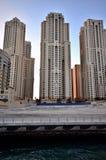 Rascacielos en Dubai Fotografía de archivo libre de regalías