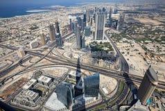Rascacielos en Dubai. UAE. Foto de archivo