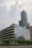 rascacielos 85 en el día nublado Imagenes de archivo