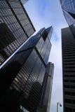 Rascacielos en el mundo del asunto Fotos de archivo