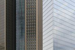 Rascacielos en Francfort Fotografía de archivo libre de regalías