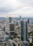 Rascacielos en Frankfurt-am-Main fotografía de archivo