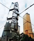 Rascacielos en Hong-Kong fotografía de archivo libre de regalías