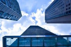 Rascacielos en Kuala Lumpur Malaysia Fotos de archivo libres de regalías