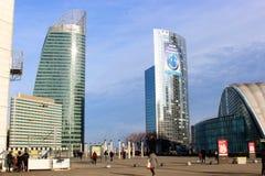 Rascacielos en la ciudad Foto de archivo