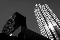 Rascacielos en las calles de San Francisco imagen de archivo libre de regalías