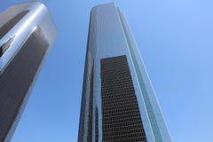 Rascacielos en Los Ángeles california Foto de archivo libre de regalías