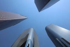 Rascacielos en Los Ángeles california Fotos de archivo libres de regalías