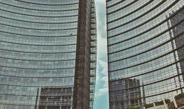 Rascacielos en Milán Italia Imagen de archivo libre de regalías