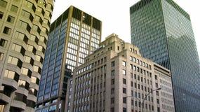Rascacielos en Montreal imagen de archivo libre de regalías