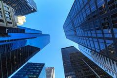 Rascacielos en New York City Imagen de archivo libre de regalías