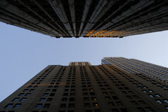Rascacielos en New York City fotografía de archivo