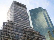 Rascacielos en Nueva York Foto de archivo libre de regalías