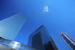 Rascacielos en Rotterdam Fotos de archivo