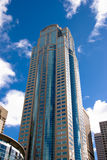 Rascacielos en Seattle, WA Imágenes de archivo libres de regalías