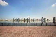 Rascacielos en Sharja. foto de archivo libre de regalías