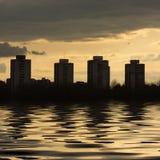 Rascacielos en Zagreb Fotos de archivo libres de regalías