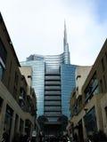 Rascacielos famoso en Milano Fotografía de archivo libre de regalías