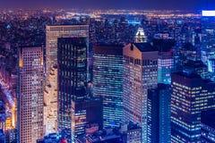 Rascacielos famosos de Nueva York Fotografía de archivo libre de regalías