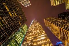 Rascacielos famosos de Nueva York Foto de archivo