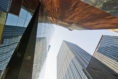 Rascacielos gigantes, New York City Fotografía de archivo libre de regalías