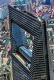 Rascacielos Liujiashui Shangai China del centro financiero de mundo Fotografía de archivo