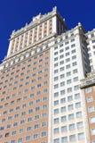 Rascacielos, llamado edificio de España en la España Squ Imagenes de archivo