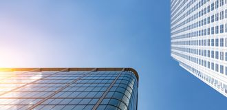 Rascacielos moderno de los edificios de oficinas en la ciudad de Londres fotografía de archivo