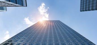 Rascacielos moderno de los edificios de oficinas en la ciudad de Londres fotografía de archivo libre de regalías