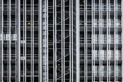 Rascacielos moderno en AZCA Madrid imagenes de archivo