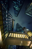 Rascacielos modernos Fotos de archivo libres de regalías