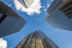 Rascacielos modernos Foto de archivo