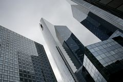 Rascacielos modernos Imagen de archivo libre de regalías