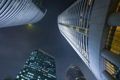 Rascacielos modernos del edificio imágenes de archivo libres de regalías