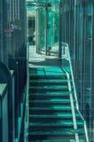 Rascacielos modernos del negocio, altos edificios de cristal, archit moderno Fotografía de archivo libre de regalías