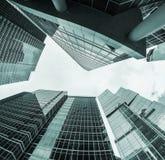 Rascacielos modernos del vidrio y del metal Imagen de archivo