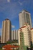 Rascacielos residencial Imagen de archivo libre de regalías