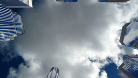 Rascacielos sobre el cielo azul, lazo inconsútil libre illustration