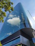Rascacielos vidrioso fotografía de archivo libre de regalías