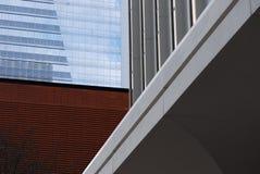 Rascacielos y edificios, detalle Imagenes de archivo