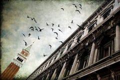 Rasches Ausweichen - Herzogpalast in Venedig, Italien Stockbilder