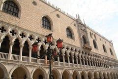 Rasches Ausweichen - Herzogpalast in Venedig, Italien Lizenzfreie Stockfotos