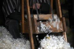 Raschiatura via la lana Immagini Stock Libere da Diritti