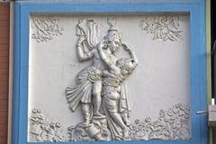 Rasdha και Krishna στοκ εικόνες