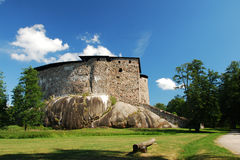 Raseborg Castle Ruins Stock Photo
