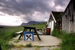 Rasen roofed Gaststätte Lizenzfreies Stockfoto