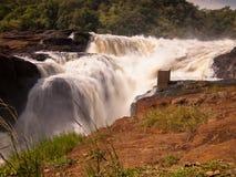 Rasender Fluss in der Schlucht  Lizenzfreies Stockbild
