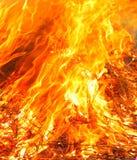 Rasendes Feuer Stockfotos